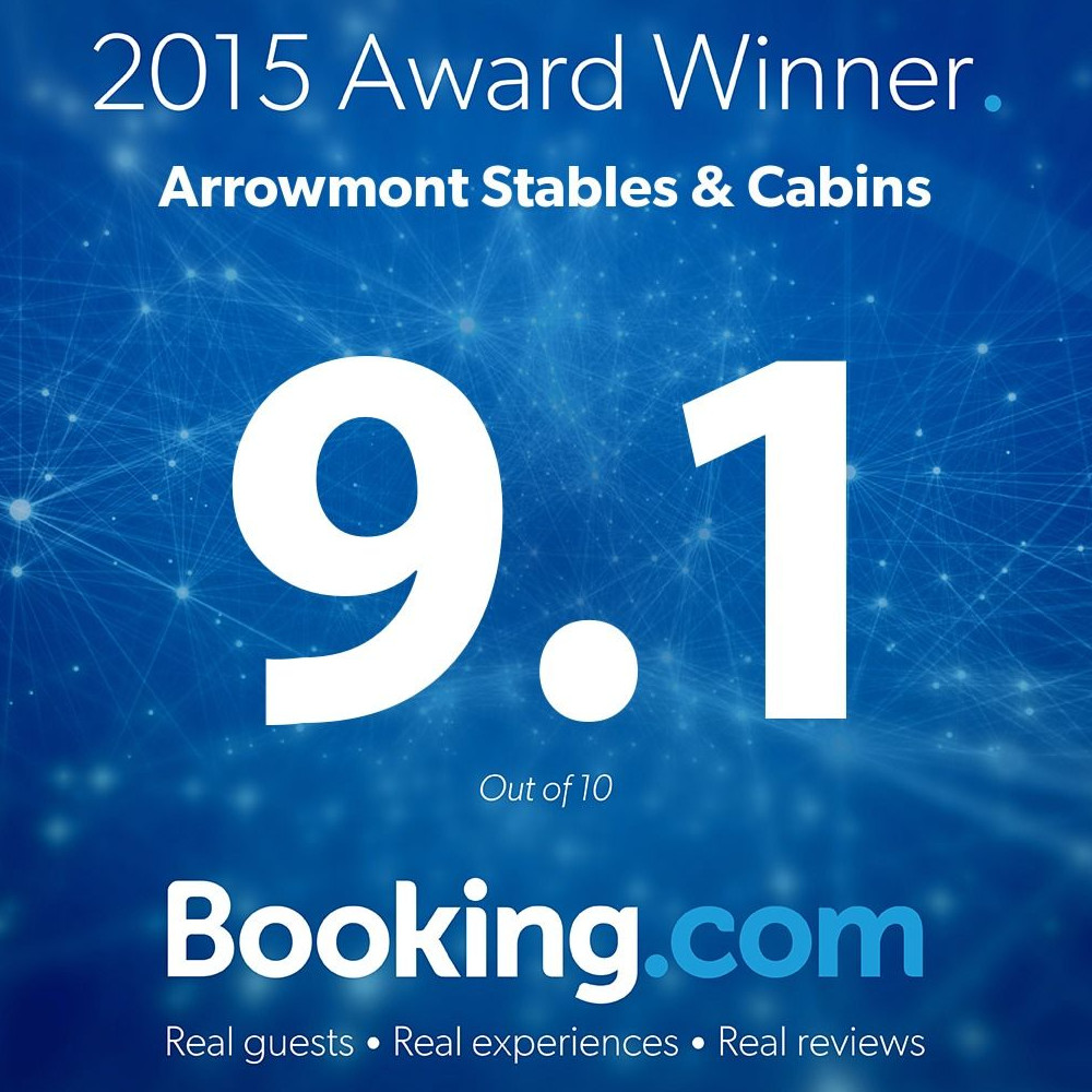 2015 Award to Arrowmont Stables & Cabins Cashiers NC